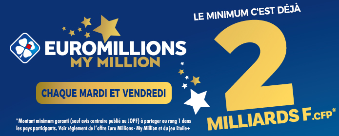 Pacifique Des Jeux Euromillions My Million